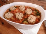 Vegetable Casserole with Cheesy Herb Dumplings