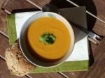 Gingered Pumpkin & Red Lentil Soup