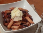 Penne with Tomato & Onion Jam