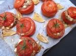 Amaranth & Halloumi Stuffed Tomatoes