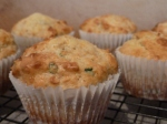 Cheesy Chilli Onion Muffins