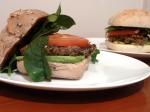 Fragrant Mushroom & Chickpea Burgers