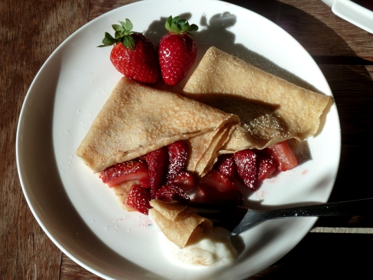 Whole-wheat Crepes