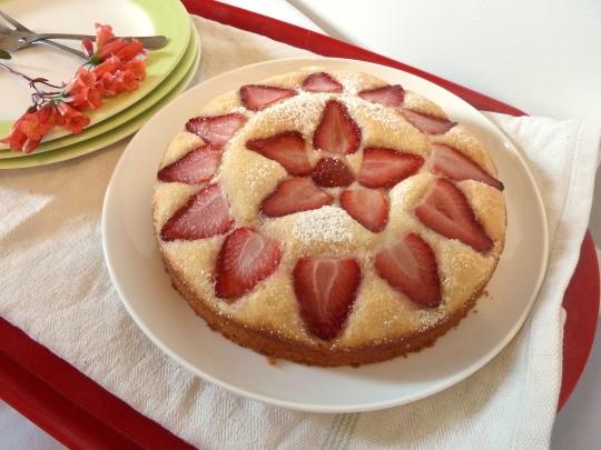Strawberry Tea Cake 2