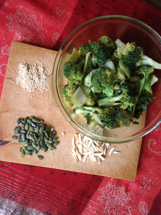 Broccoli Salad with Asian Style Salad