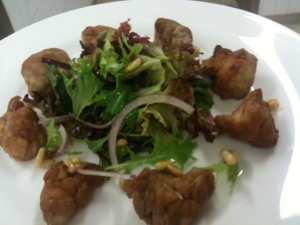 Veal Sweetbread Salad