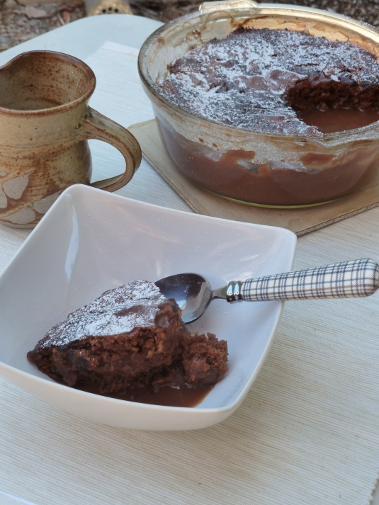 Chocolate Self-Saucing Pudding