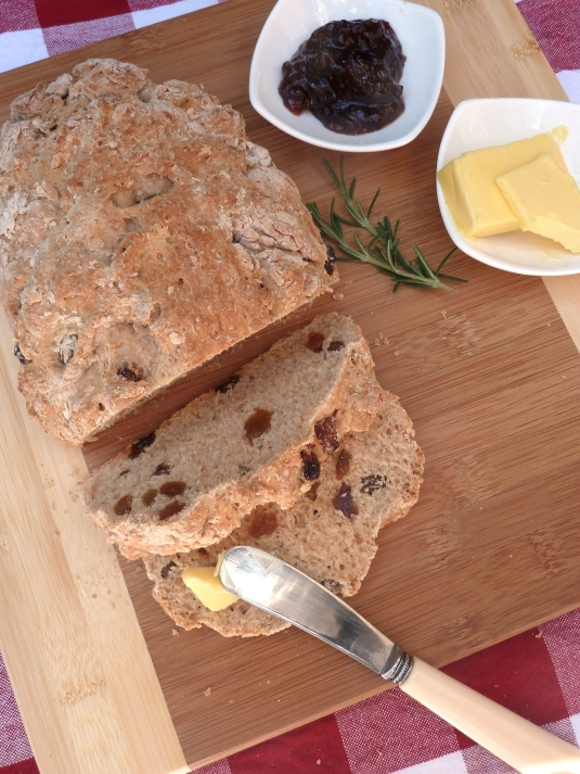 Rosemary & Sultana Bread