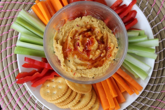 Sweet Chilli Hummus