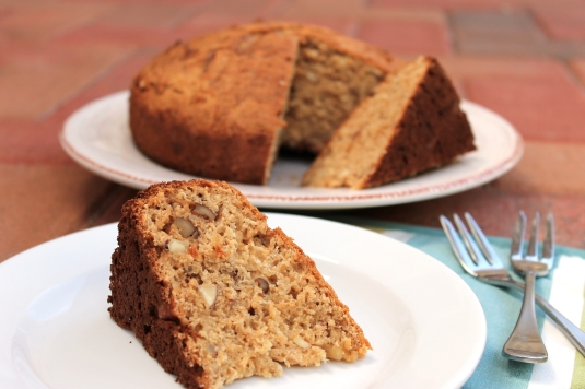Whole-Wheat Honey Nut Cake