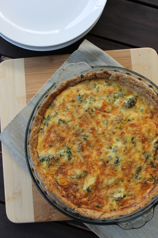 Squirrel's Quiche