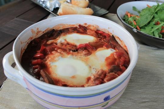 Chakchouka - Baked Eggs
