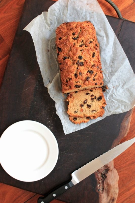 Apple Sultana Loaf