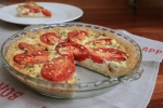 Tomato & Feta Tart with Brown Rice Crust