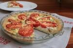 Tomato & Feta Tart with Brown Rice Crust