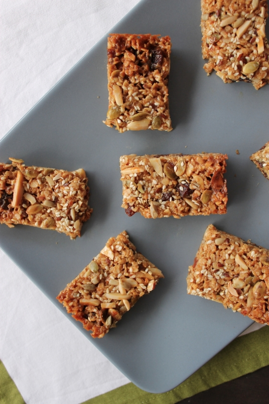 Honey Peanut Butter Bars