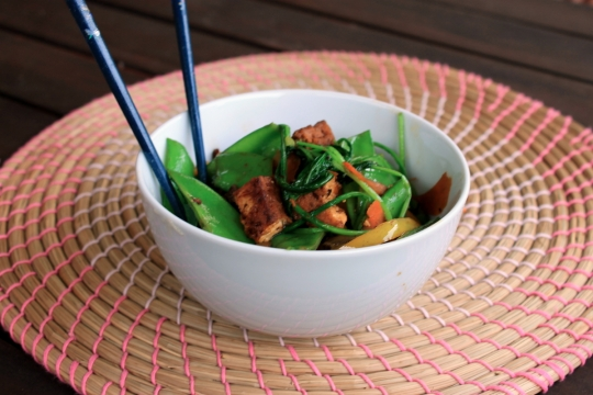 Tofu Vegetable Bowl