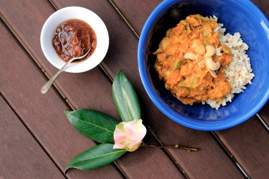 Butter Bean, Cashew & Coconut Korma