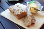 Apple Pecan Flaxseed Loaf