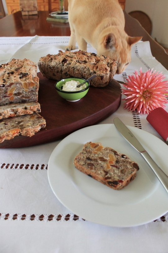 Dried Fruit, Seed & Nut Bread