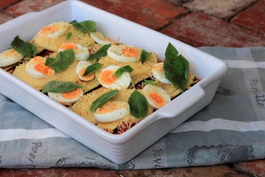 Zucchini & Egg Parmigiana