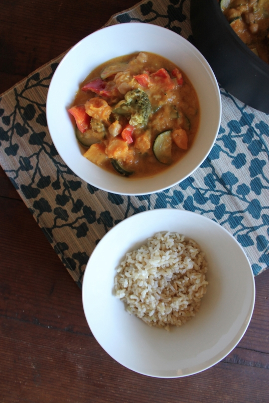 Sri Lankan Coconut Pumpkin Curry