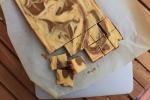 Cheesecake Swirl Espresso Blondies