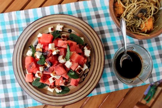 Feta & Watermelon Salad