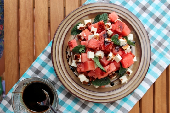 Feta & Watermelon Salad