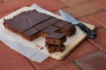 Chocolate Sultana Slice
