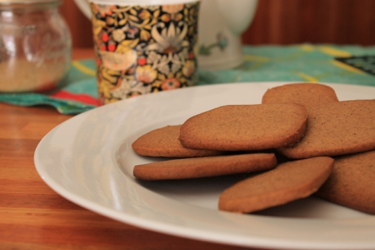 Rum & Spice Biscuits