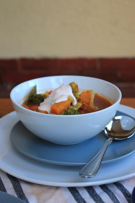 Spiced Lentil & Vegetable Soup