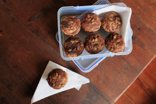 Sweet Potato & Zucchini Muffins